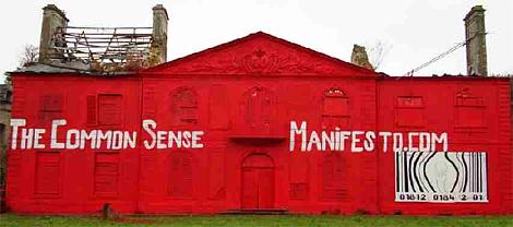I see a red door........................(banksycastle2.JPG)