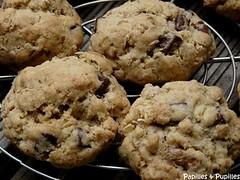 Cookies au noix et aux pépites de chocolat
