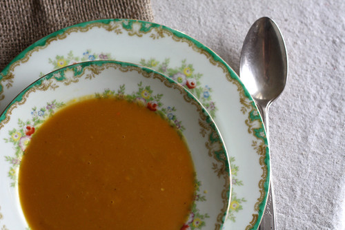 Pumpkin and Butternut Squash Soup
