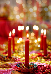 Mehndi (rohtas) Tags: wedding pakistan light candles colours bokeh celebration starts mehndi jhelum arifsons amerraja