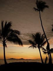 Sunset on Chuuk (mattk1979) Tags: ocean trees sunset orange island paradise pacific palm tropical weno chuuk federatedstatesofmicronesia truklagoon