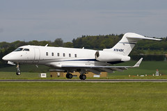 N184BK - 20209 - Private - Bombardier BD-100-1A10 Challenger 300 - Luton - 090505 -Steven Gray - IMG_2061