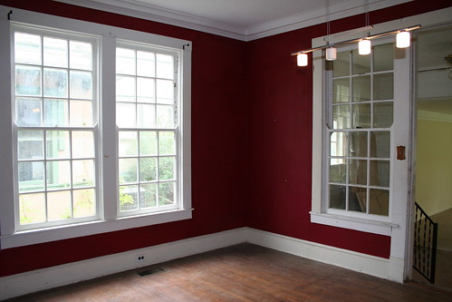 Painted Rooms painting a room red - interior design