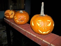 Our jack-o-lanters