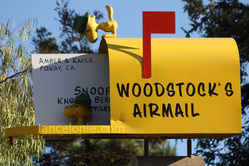 Woodstock's Airmail by lancelonie.com, More photos on Flickr!