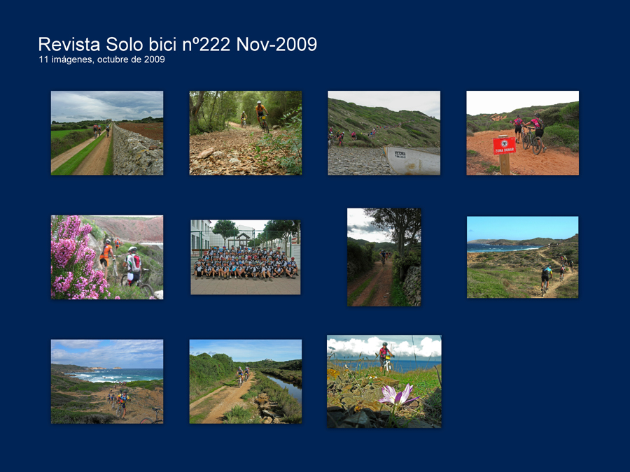 Revista Solo bici nº222 Nov-2009