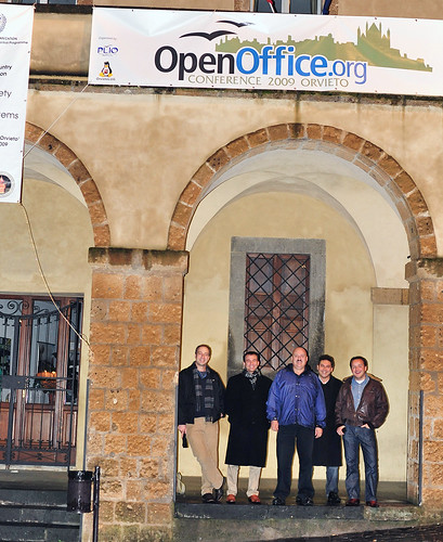 Microsoft guys at OOoCon by Dougerino.