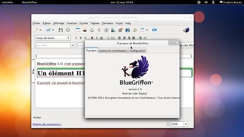 BlueGriffon 1.0
