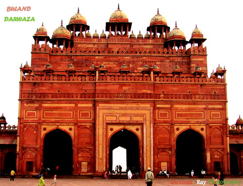 "Buland Darwaza [ ""Gate of Magnificence""]"