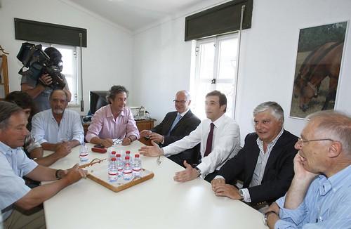 Pedro Passos Coelho reunião com Agricultore