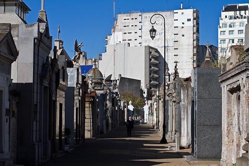 La Recoleta Cemeter, Buenos Aires
