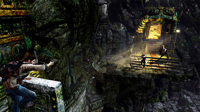 Uncharted: Golden Abyss - Fly on the Wall