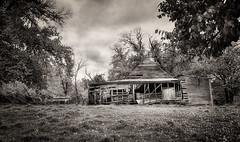 Shack (suemartin664) Tags: old bw abandoned barn stock scout shack yea derelict tonedimage suemartin may2011