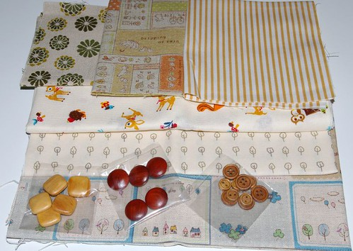 New fabrics and buttons