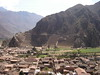 View of Ollantaytambo Ruins from Above - Image 2 - Peru 2008