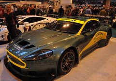 Aston Martin DBRS9 (Si 558) Tags: tv birmingham martin centre racing exhibition motors international diana national 2009 aston nec binks autosport dbr9 dbrs9 motorstv dianabinks