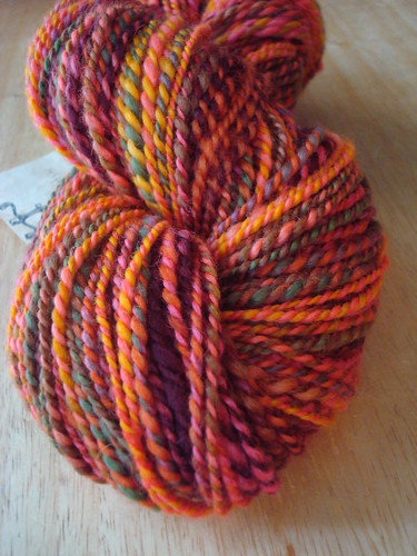 The handspun I gifted to Myrna
