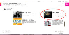 Featured in Zune Marketplace!