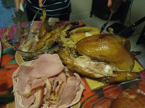 more Christmas dinner