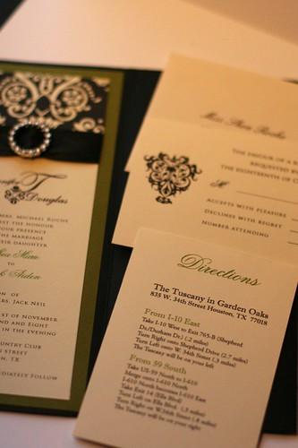 Elegant Pocket Wedding Invitation Collection-2