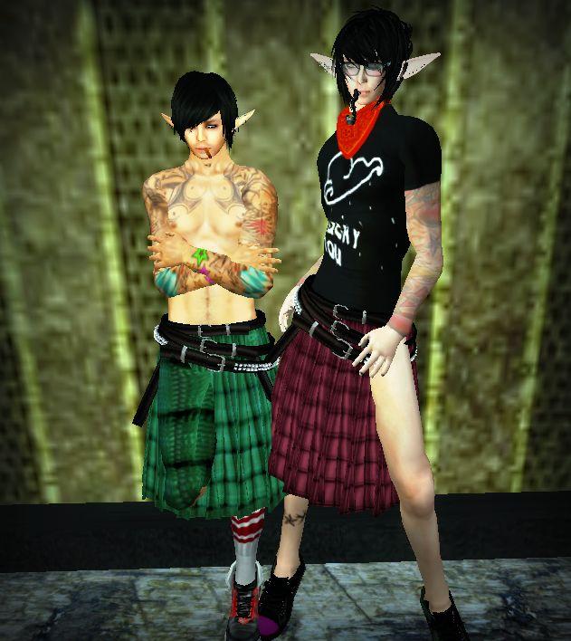 boys in kilts