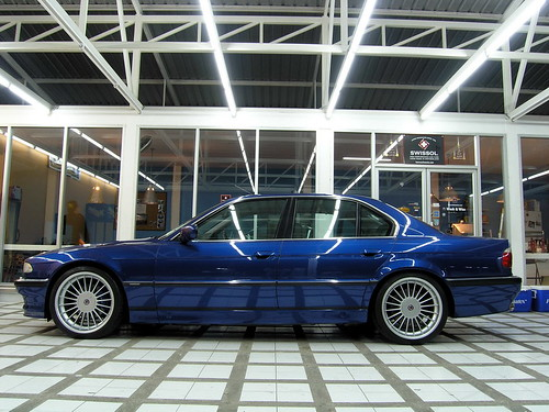 Bmw Alpina B12. Alpina B12 7 Series
