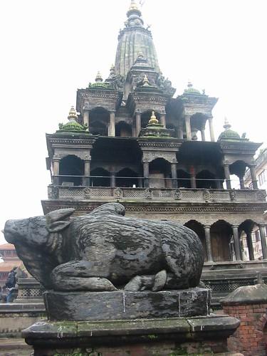 Een van de vele Shiva-tempels