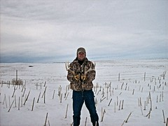 Ron with first sheds of the day. (Wayne Baer) Tags: found hunting shed horns deer ron antlers rack buck find sheds whitetail deerhorns shedhunting deersheds shedantlers antlerhunting whitedeerantlers
