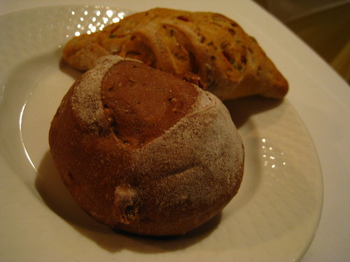 Soy Bean Sprout Bread and Walnut & Apricot Bread