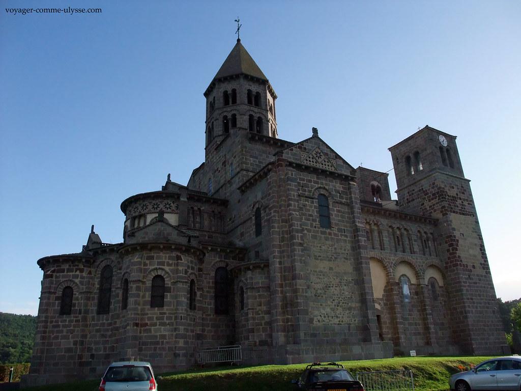A igreja de Saint-Nectaire