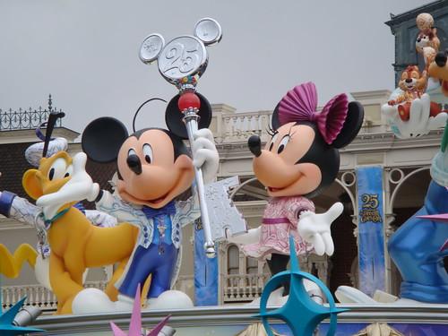 東京ディズニーランド 25周年