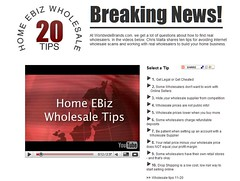 Wholesale Tips by Chris Malta, Worldwide Brands, Inc (markparshall) Tags: wholesalers wholesaleprices worldwidebrands sellingonline getlegal chrismalta wholesaletips salestaxid wholesalesupplier settingupanaccountwithawholesalesupplier videotips