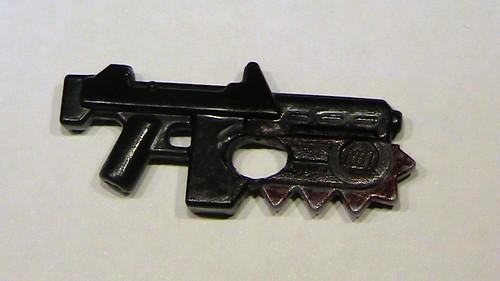 Lancer Gears of war custom minifig gun