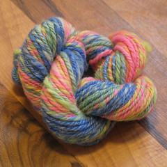 Mardi Gras Rose yarn