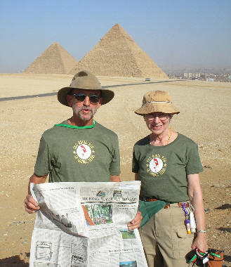 David & Vickie Vogel in Egypt