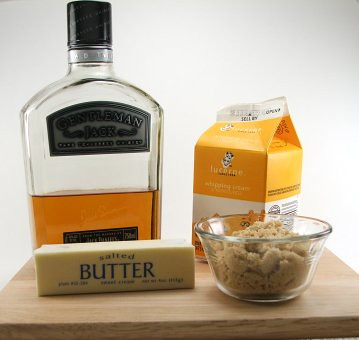 Butterscotch Whiskey Sauce Fixins