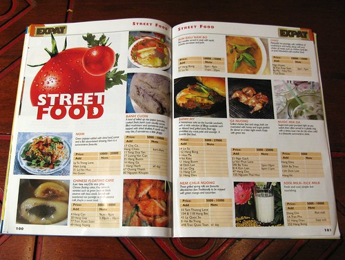 Hard to find Hanoi street food guide, page 1