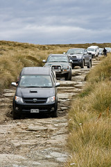 Well the front wheels are down! (Lathkill96) Tags: new island south explorer lakes southern zealand stonestaircase nzadventures 4wdsafari4wd