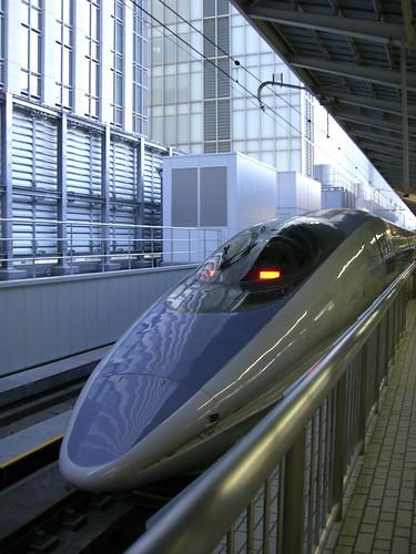"""500系新幹線のぞみ/500 Series Shinkansen """"Nozomi"""""""