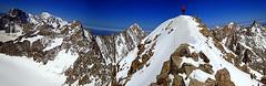 Mt Dolent (arturo gabaldn) Tags: mountain france alps montagne alpes climbing panoramica montaa chamonix montblanc alpinisme argentiere alpinism aiguilleverte dolent grandesjorasses mtdolent lesdroites lescourtes