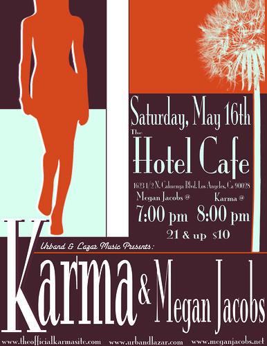 Megan J Hotel Cafe 5/16