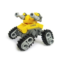 Maikuro Gunner (Fredoichi) Tags: tank lego space shooter gunner sentry shmup fredoichi