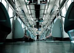 all alone / seul (dzpixel) Tags: auto travel japan canon alone empty portait perspective rail tama sega nara nihon kuruma dz nipponbashi selfpicture portai kob samlam dzpixel
