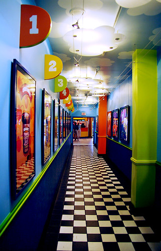 Top flavor hallway