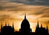Hungarian Parliament Building Silhouette ~ Explored ~ (Sergiu Bacioiu) Tags: building silhouette sunrise europe hungary budapest parliament explore hungarian explored