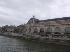 Caisse des Depots and Musee d'Orsay - River Seine - Paris