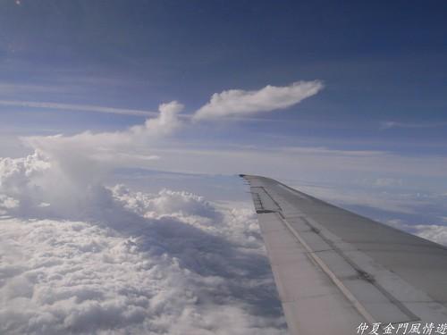 你拍攝的 719000英呎的雲層。