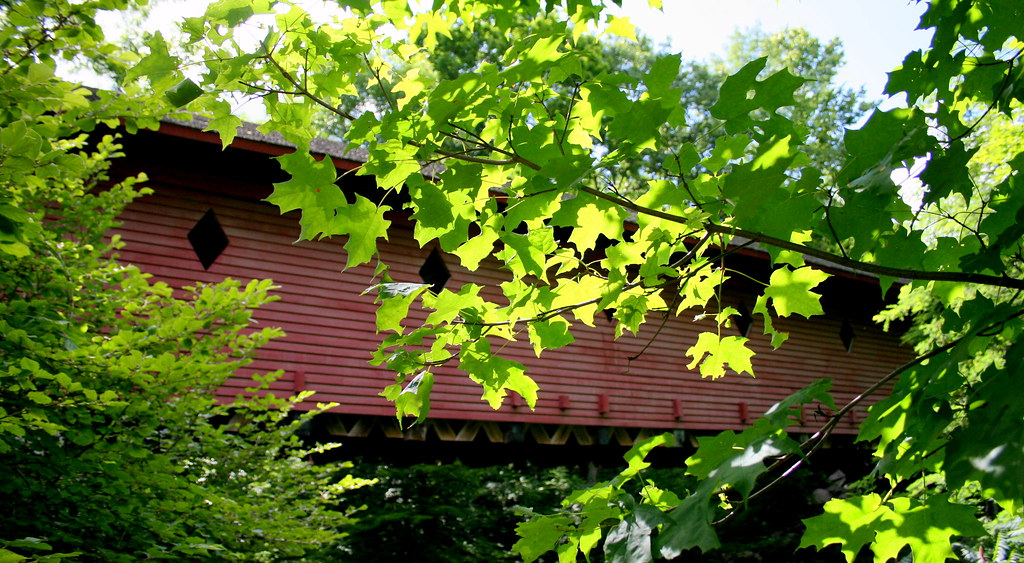 Newfield Covered Bridge, NY