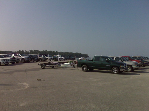 Fishermen at Weeks Bay Point