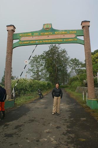 Kelimutu National Park Entrance